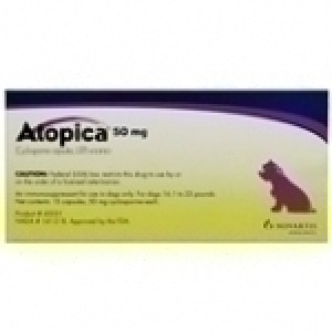 Atopica (Cyclosporine) 50MG, 15 Capsules