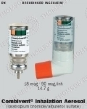 Combivent (Albuterol Ipratropium) - 100/20mcg, 200 MDI