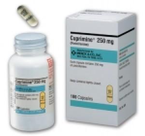 Cuprimine Cilamin (Penicillamine) 250 mg, 50 cap