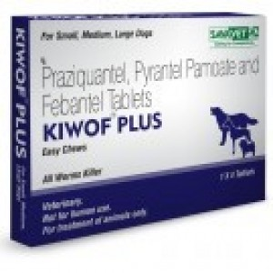 Drontal Plus (Kiwof Plus) 50-144-150mg, 20 Tab