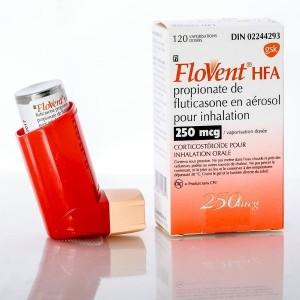 Flovent (Fluticasone Propionate) 250mcg, 120 MDI