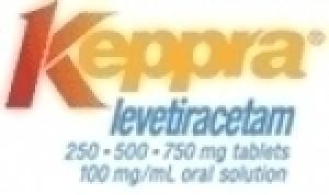 Keppra (Levetiracetam) - 500mg, 100 Tabs