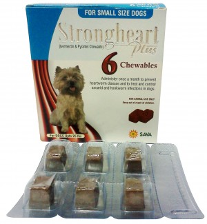 Strongheart  Generic Heartgard Plus for Small Dog 1-25 lbs, 6 T