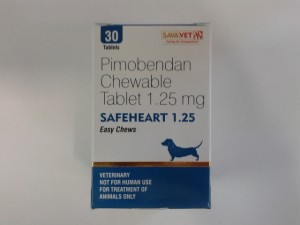 Vetmedin (Pimobendan Chewable) 1.25mg
