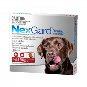 Nexgard 136mg, 3 Tablets