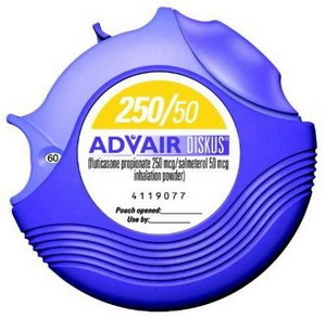 Advair Diskus (Fluticasone-Salmeterol) - 250/50mcg, 30 MDI