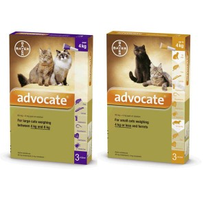 AdvocateCat 0-8 lbs 0.4ml 3 pack