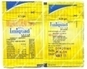 Aldara (Imiquimod) - 5% Cream, 3 Packets
