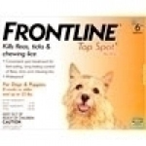 Frontline Top Spot for Small Dog under 22lbs,  3 Doses