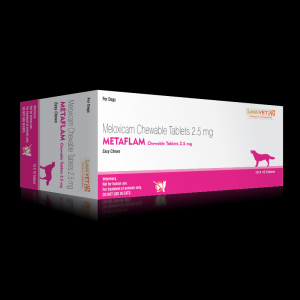 CURRENTLY UNAVAILABLE Metacam (Metaflam) 2.5mg 100 Tabs