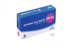 Quinine (Quinine Sulphate) 300mg, 28 Tablets