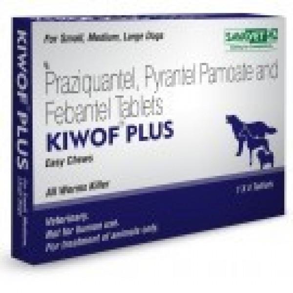 Drontal Plus Kiwof Plus 50 144 150mg 20 Tab
